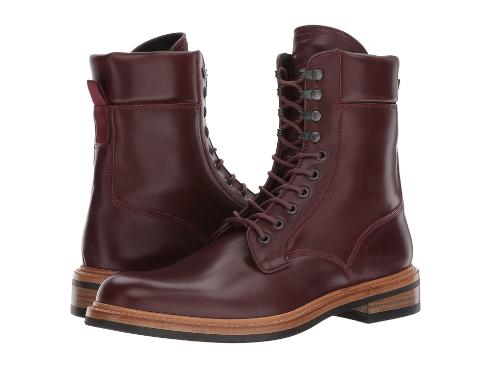 rag & bone - Spencer Military Boot (Oxblood) Men's Shoes