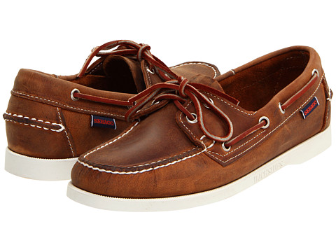 Sebago Docksides (Chocolate) Women's Lace up casual Shoes