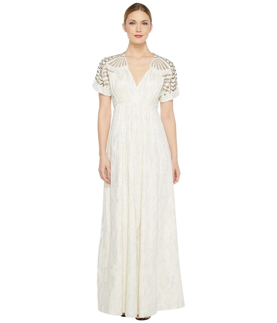 Intropia - Maxi Dress (Silver) Women's Dress