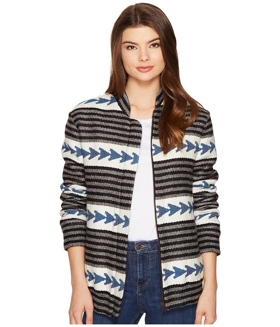 Intropia - Arrow Jacket (Ocean) Women's Coat