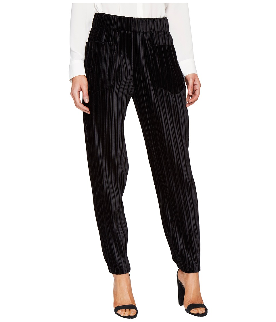 Intropia - Striped Trousers (Black) Women's Clothing
