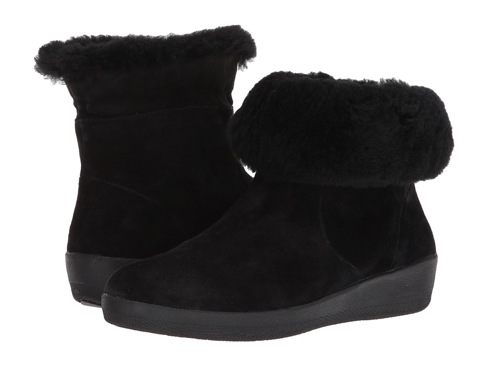 FitFlop Skatebootie (Black) Women