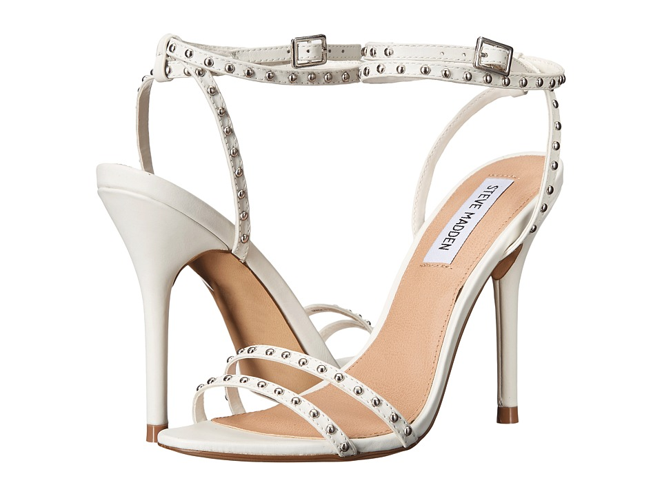 Steve Madden - Wish (White Leather) Women's Shoes