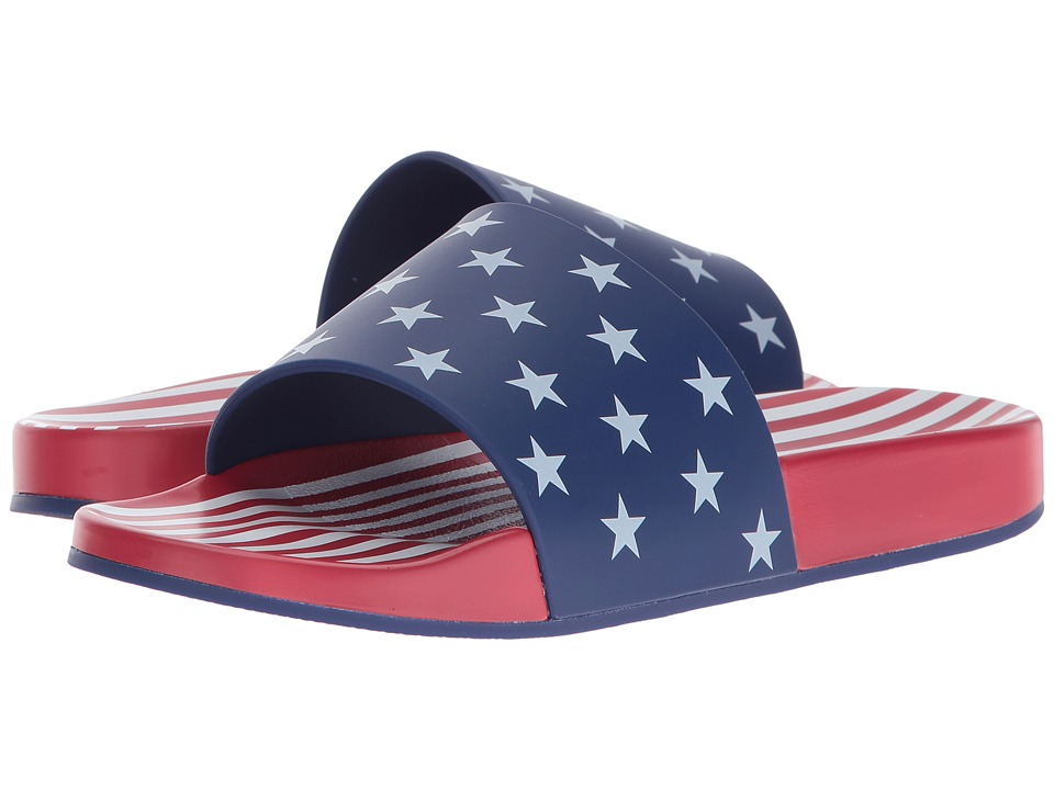 Katy Perry - The Betsy (Red/Blue Multi) Women's Shoes