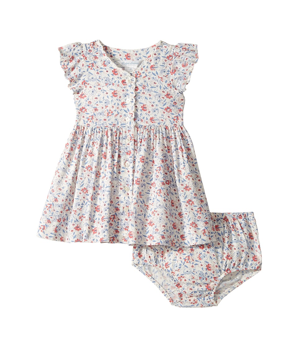 Ralph Lauren Baby - Printed Floral Dress (Infant) (Cream Pink Multi) Girl's Dress