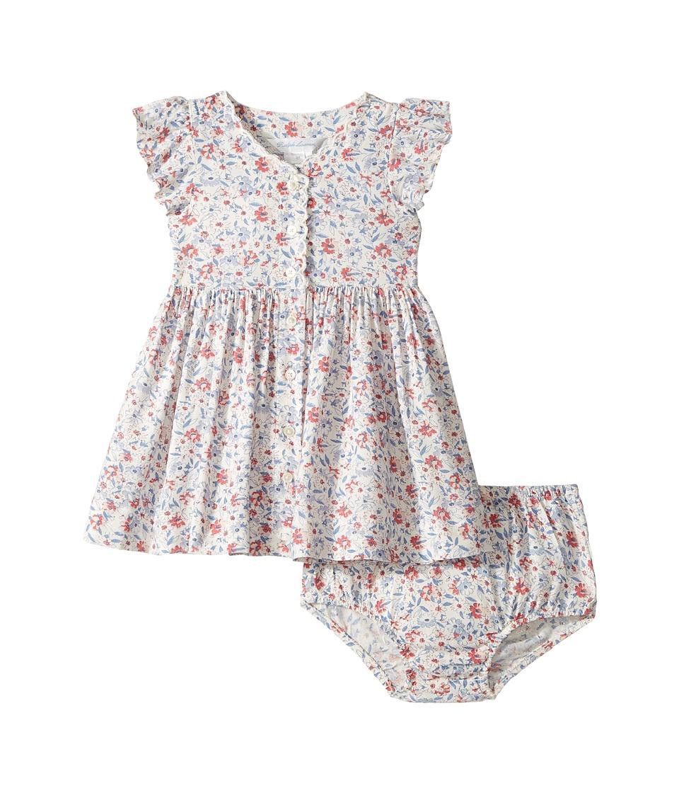 Ralph Lauren Baby - Printed Floral Dress (Infant) (Cream Pink Multi) Girl's Dress