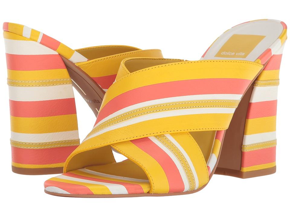 Dolce Vita Hanna (Yellow Multi Stripe) Women