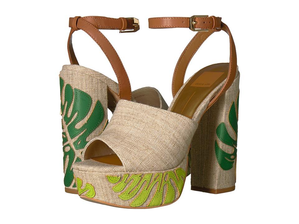 Dolce Vita - Lando (Green Palm Print) Women's Shoes