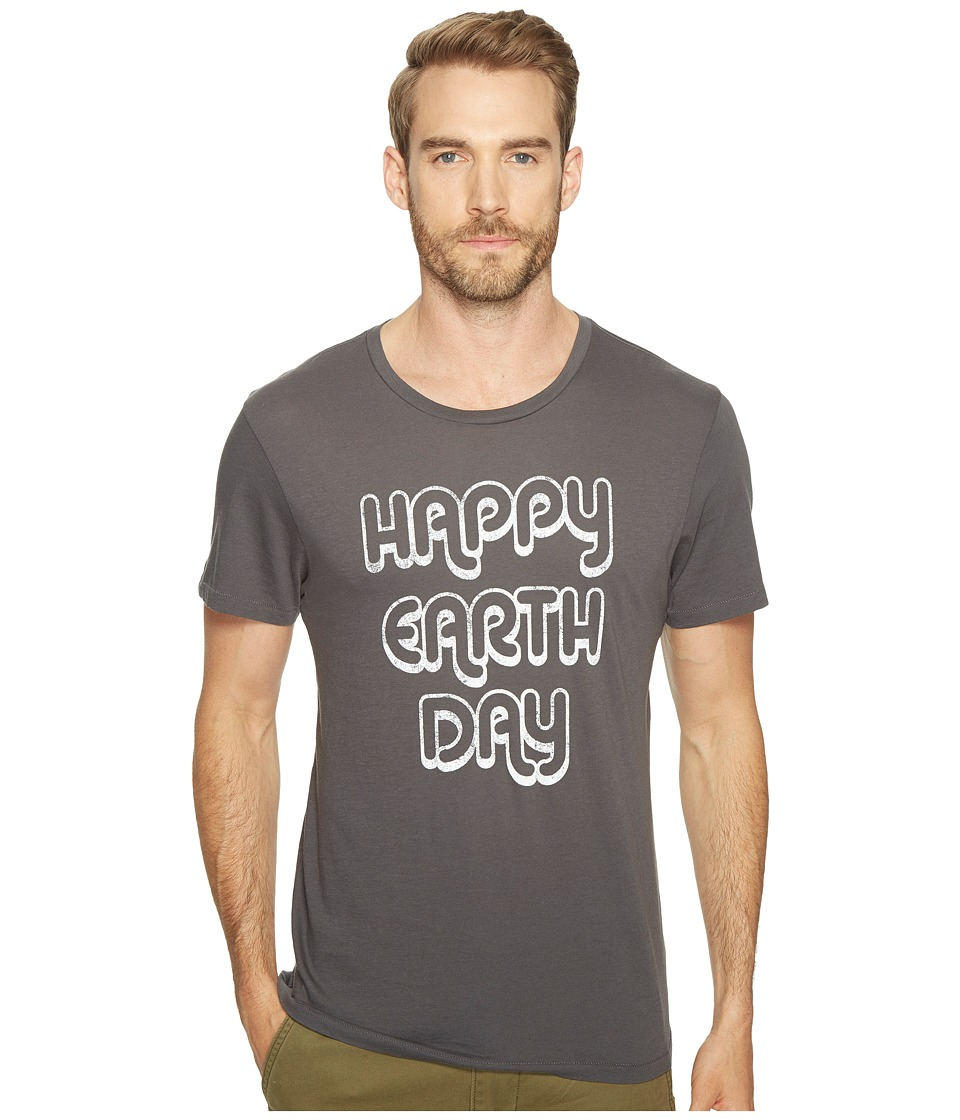 Alternative - Organic Crew (Happy Earth Day/Coal) Men's T Shirt