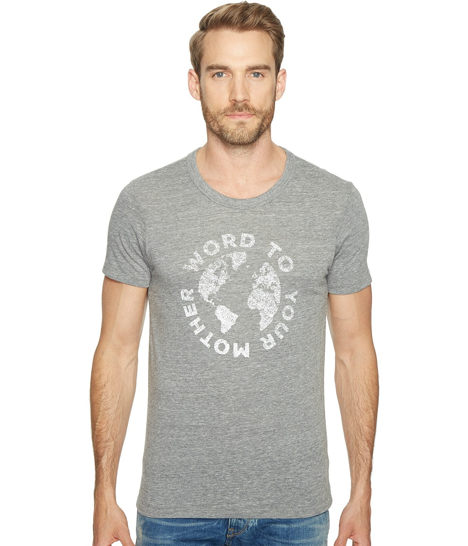 Alternative - Graphic Eco Crew (Word to your Mother/Eco Grey) Men's T Shirt
