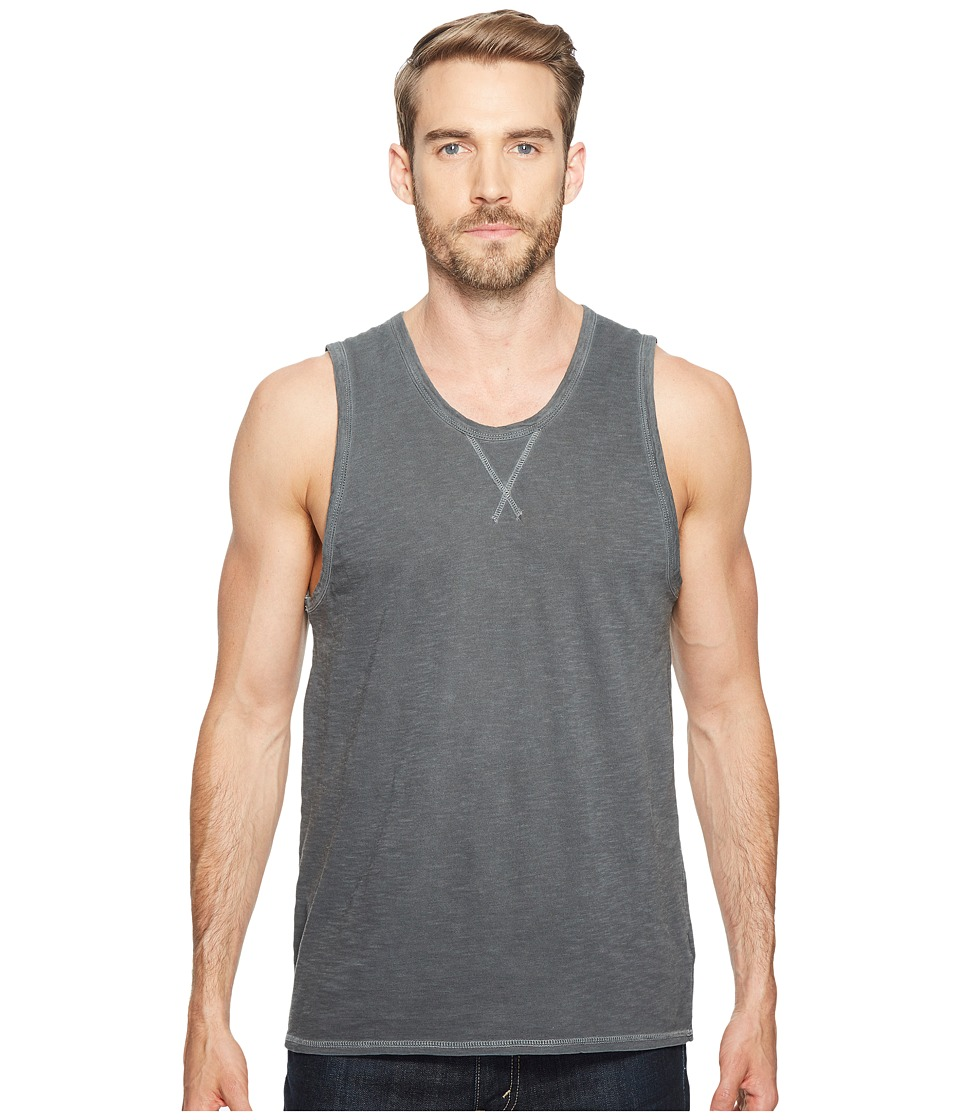 Alternative - Washed Slub Bodhi Tank Top (Coal Pigment) Men's Clothing