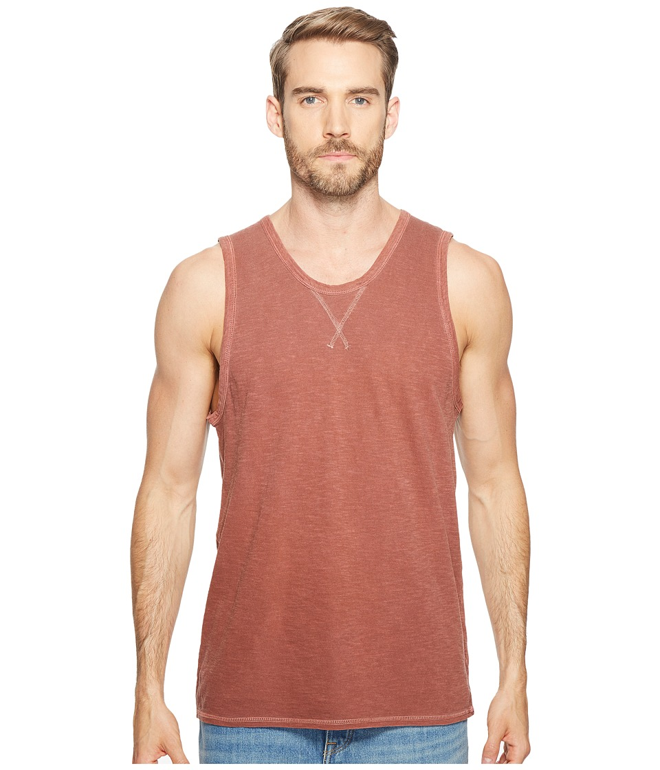 Alternative - Washed Slub Bodhi Tank Top (Desert Rock Pigment) Men's Clothing