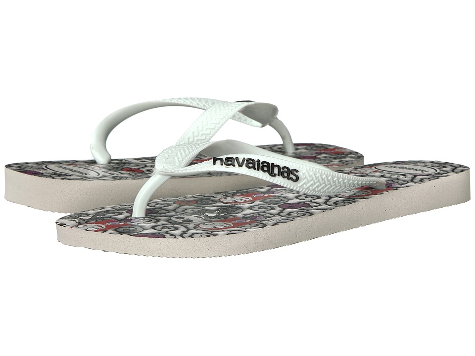 Havaianas - Top Millennial Nightmare Sandal (White/White) Women's Sandals
