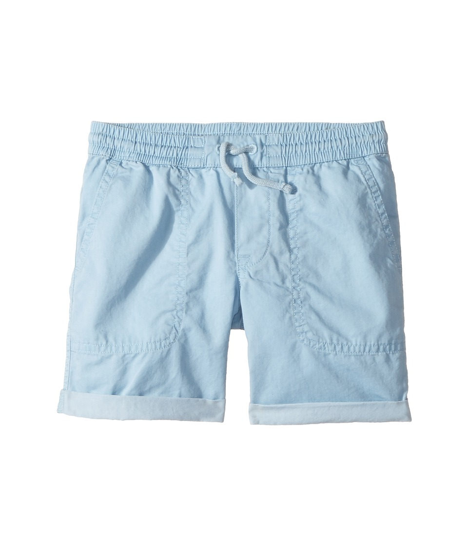 Polo Ralph Lauren Kids - Parachute Twill Rolled Shorts (Toddler) (Naples Blue) Boy's Shorts