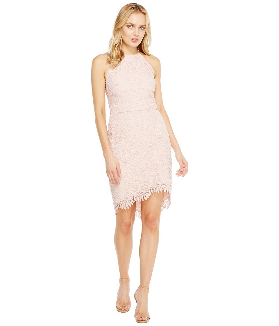 Adelyn Rae - Louise Fishtail Sheath Dress (Pink Sand) Women's Dress