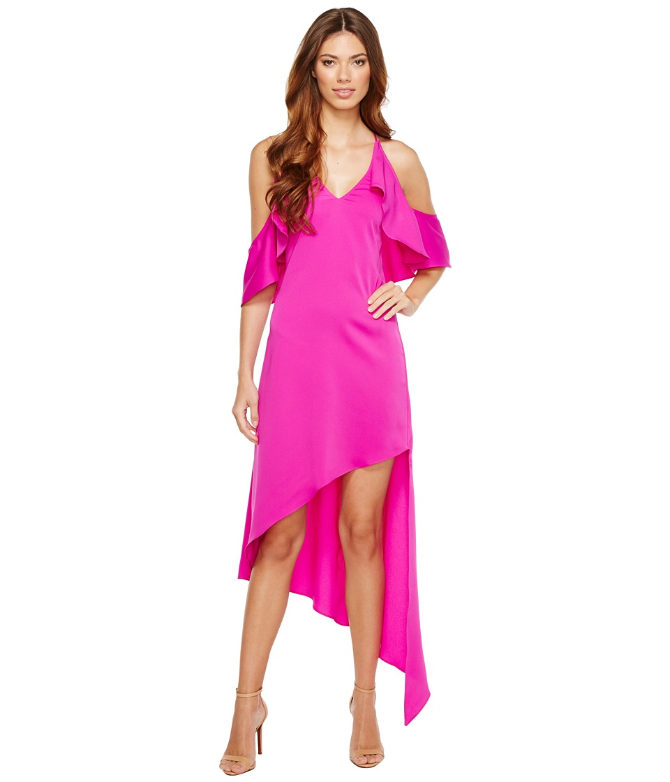 Adelyn Rae - Oliana Woven Slip Dress (Hot Pink) Women's Dress