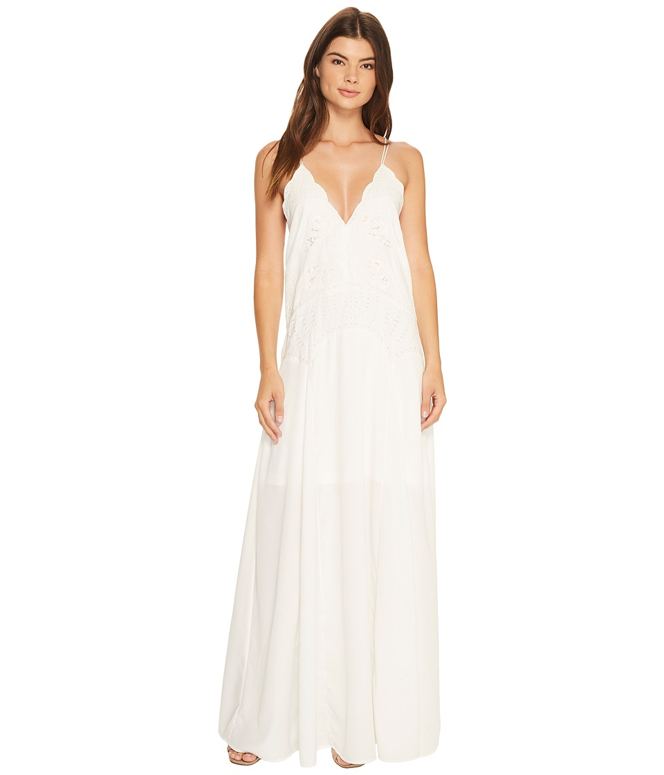Adelyn Rae - Emelia Woven Maxi Dress (Off-White) Women's Dress