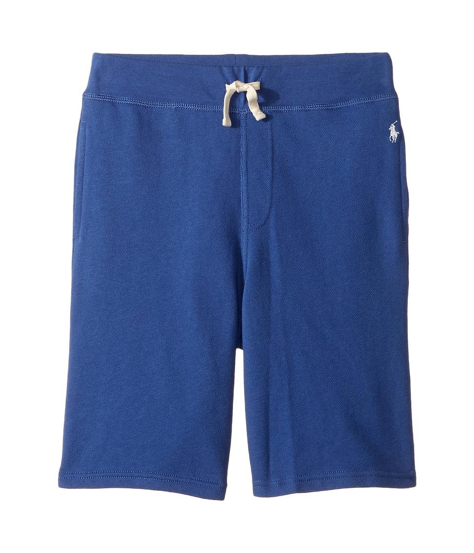 Polo Ralph Lauren Kids - Atlantic Terry Pull-On Shorts (Big Kids) (Sporting Blue) Boy's Shorts