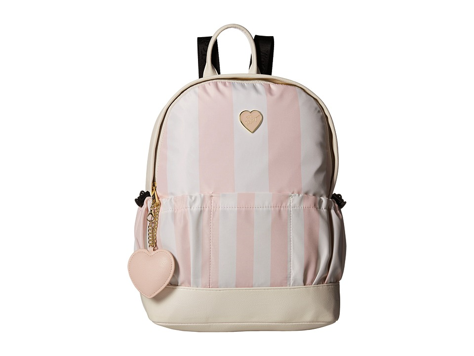 Betsey Johnson - Two-Pocket Backpack (Stripe) Backpack Bags