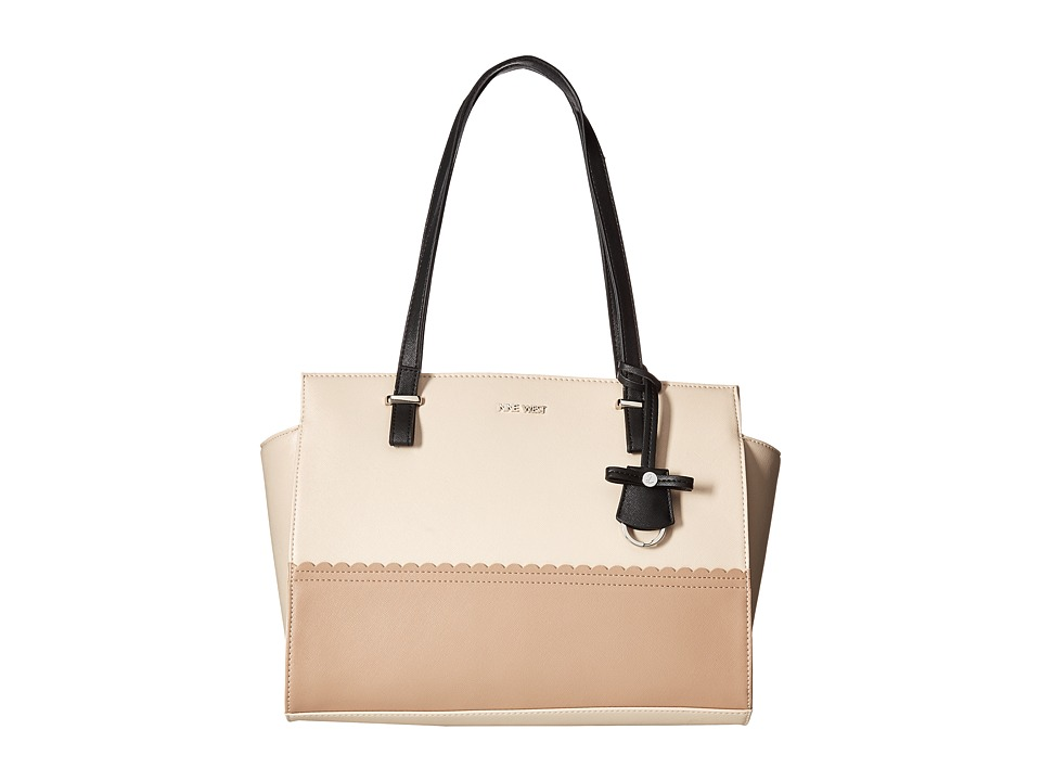 Nine West - Color Turn (Beige/Black/Mink) Handbags