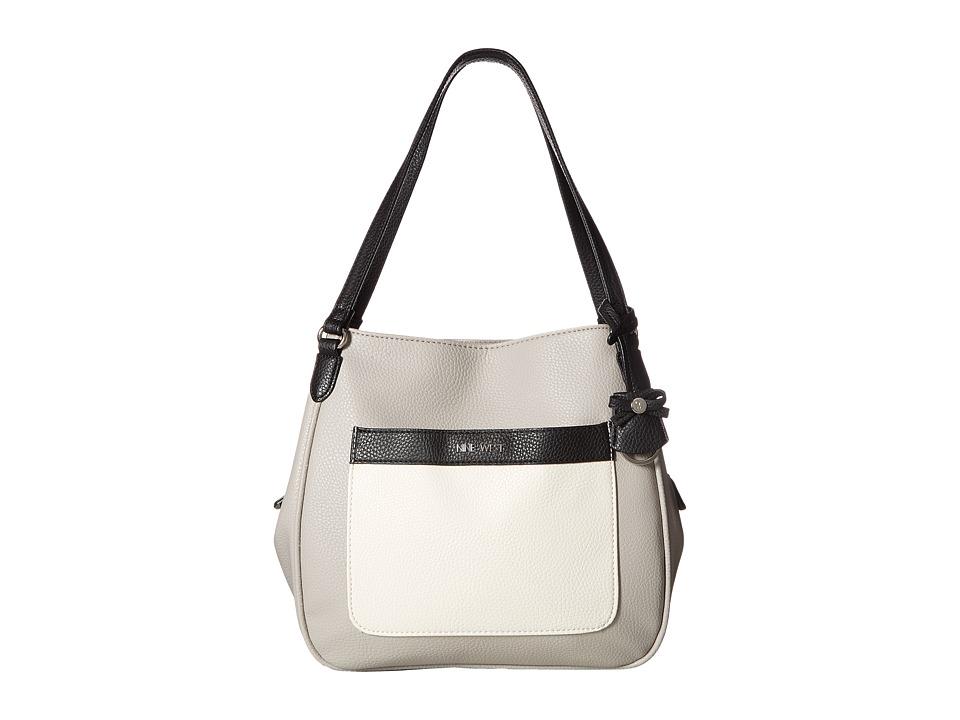 Nine West - All Teamed Up (Chalk/Dove/Black) Handbags