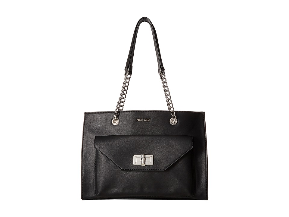Nine West - Twist and Turn (Black) Handbags