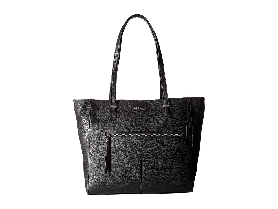 Nine West - Business Pockets (Black) Handbags