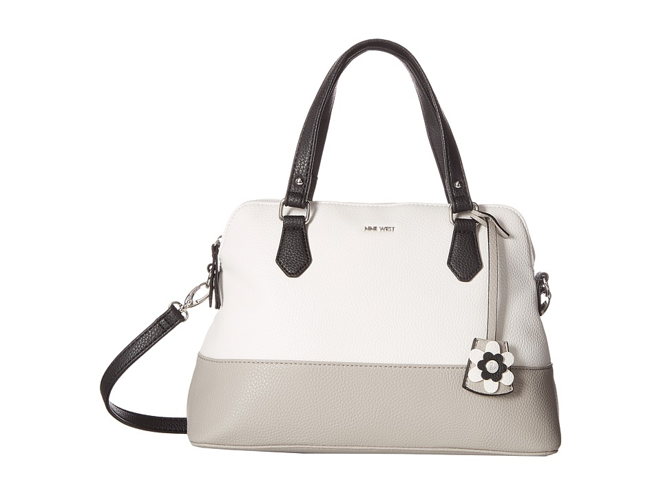 Nine West - Dealing Times (Snow Petal/Dove/Black) Handbags