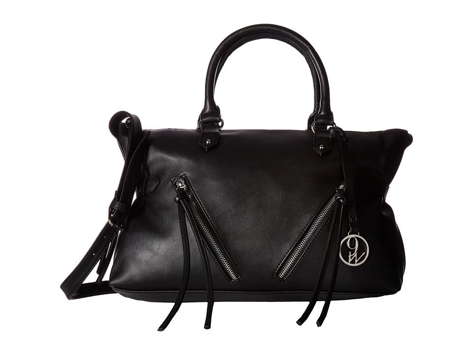 Nine West - City Zip (Black) Handbags