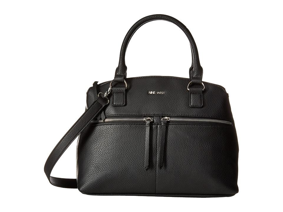 Nine West - Satch Attack (Black) Handbags