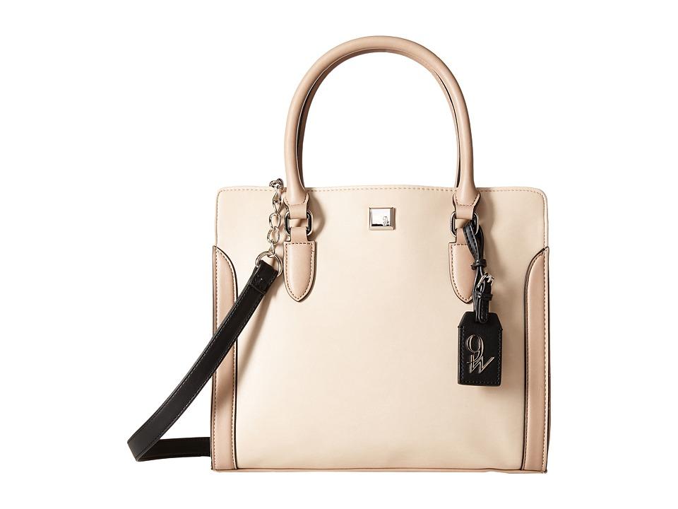 Nine West - Me Time (Beige/Mink/Black) Handbags