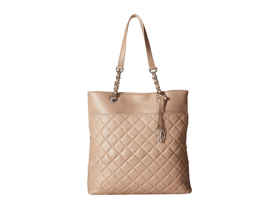 Nine West - Checkered Chic (Mink) Handbags