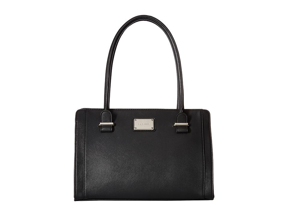 Nine West - Metro Girl (Black/Black) Handbags