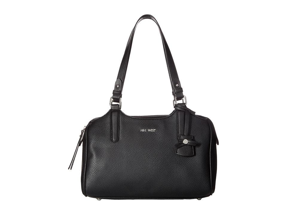 Nine West - Becca (Black/Black) Handbags
