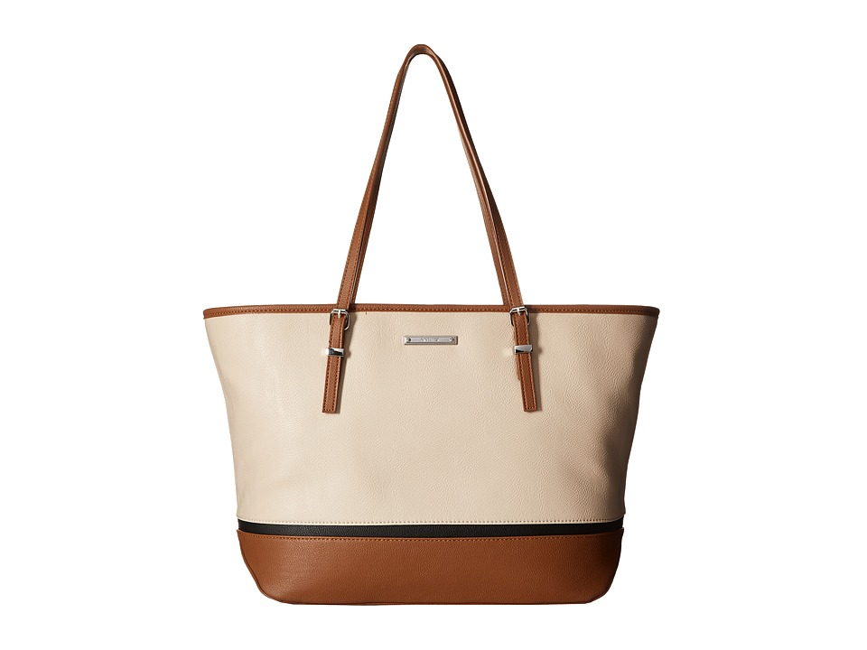 Nine West - It Girl (Beige/Tobacco/Black) Handbags