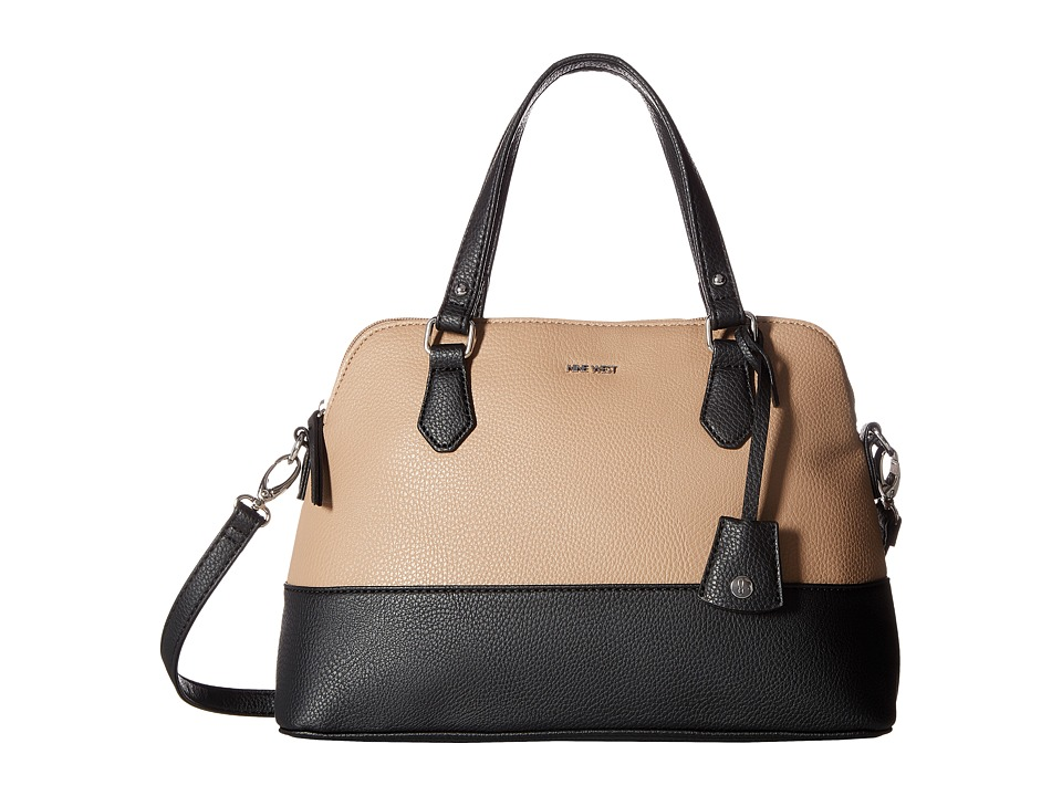 Nine West - Dealing Times (Mink/Black) Handbags