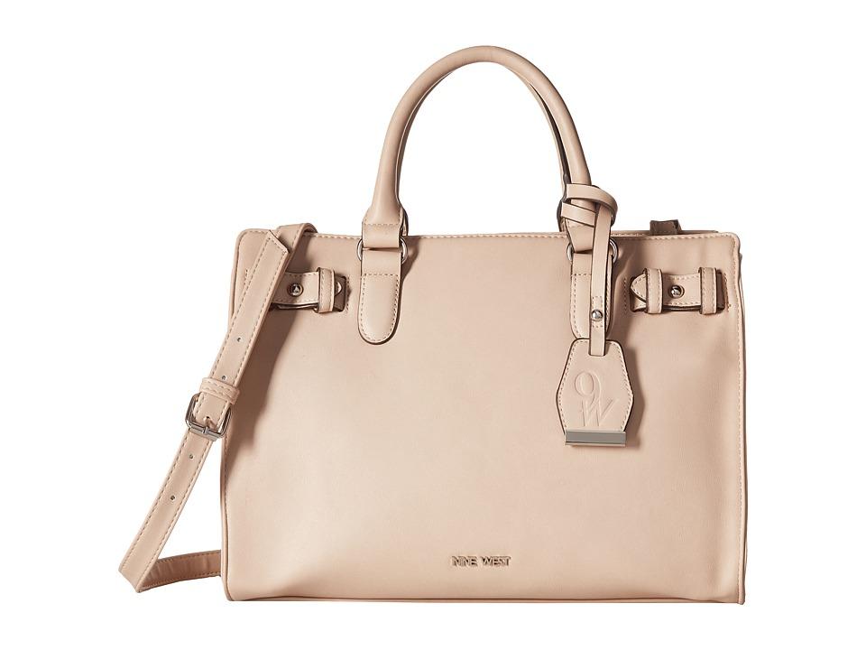 Nine West - Buckle Time (Cashmere) Handbags