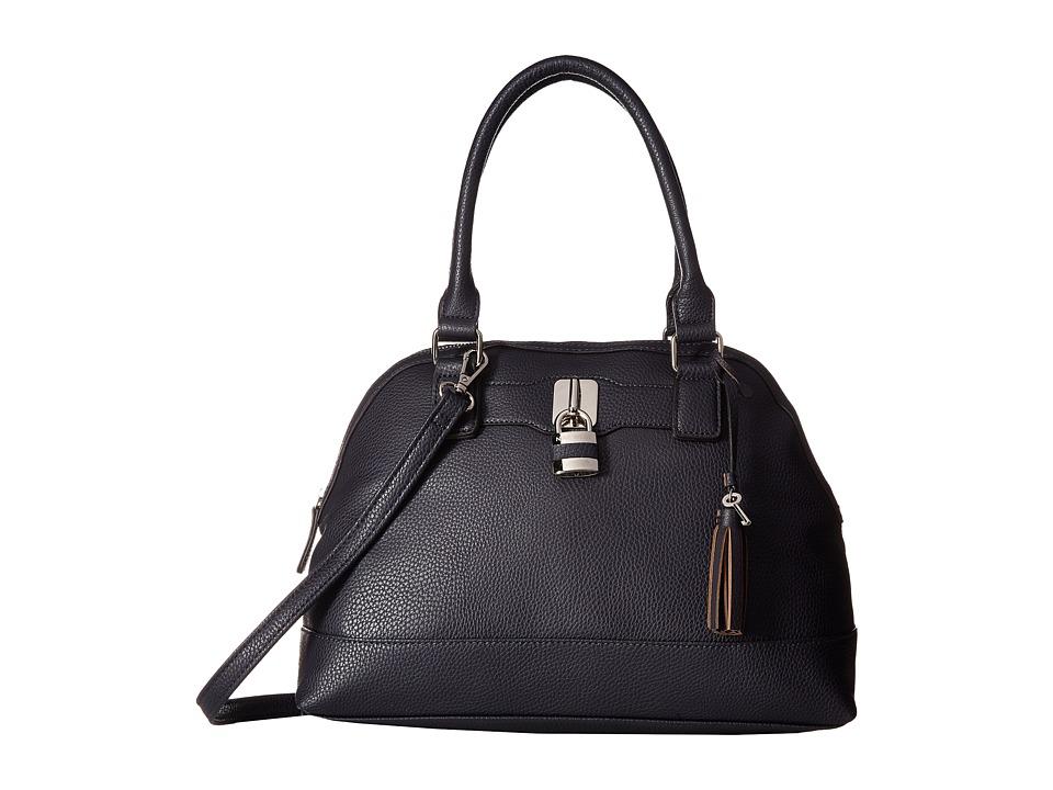 Nine West - Pop Lock (French Navy) Handbags