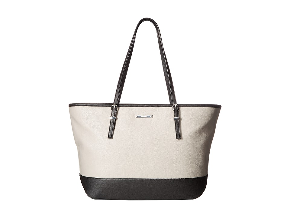 Nine West - It Girl Tote (Dove/Black) Tote Handbags
