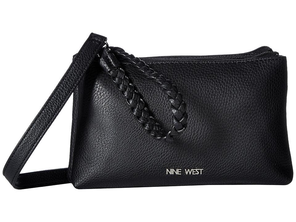 Nine West - Double Block (Black) Handbags