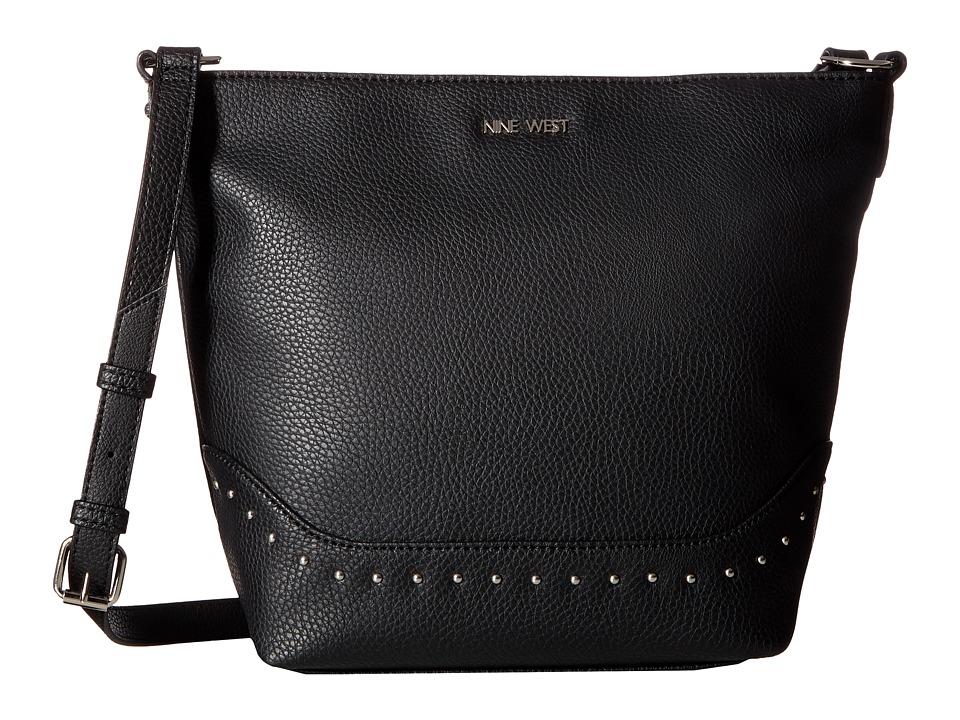 Nine West - Syra (Black/Black) Handbags