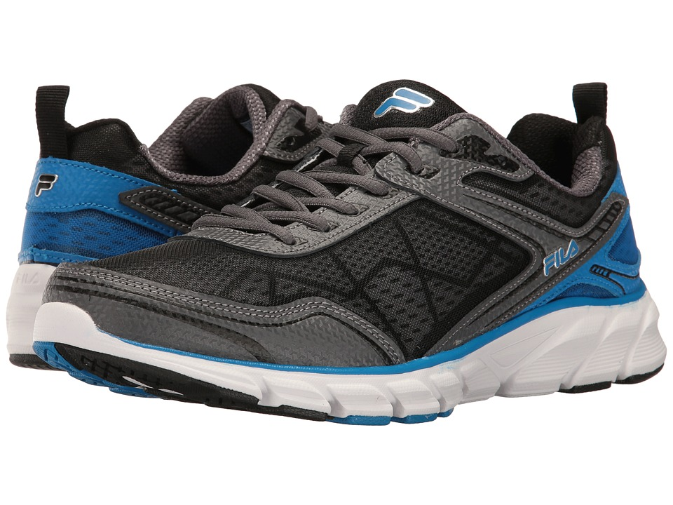 Fila - Memory Granted (Pewter/Electric Blue/White) Men's Shoes