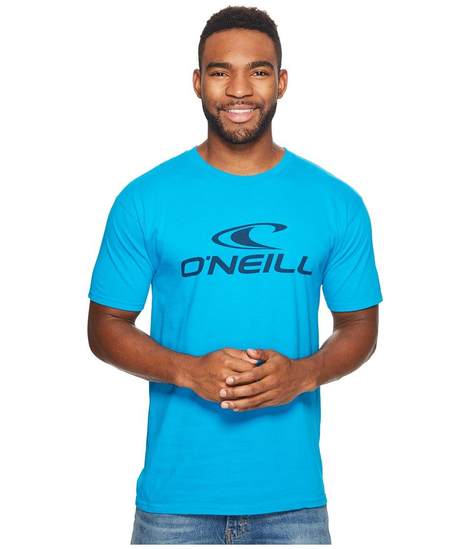 O'Neill - Quarter Tee (Turquoise) Men's T Shirt
