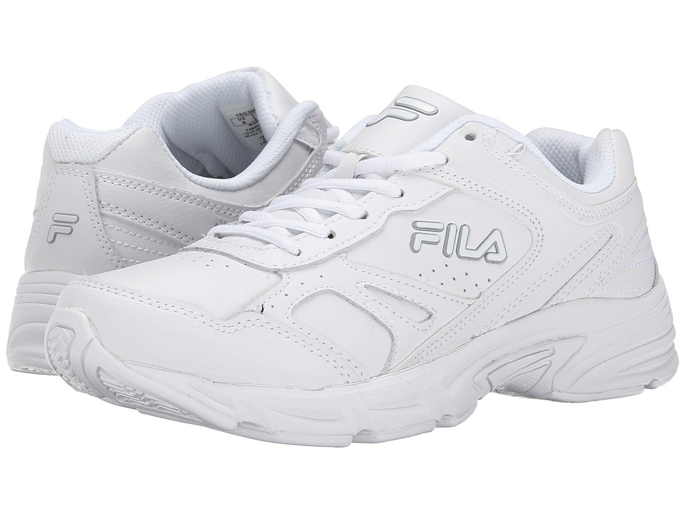 Fila Workplace (White/White/High-Rise) Men