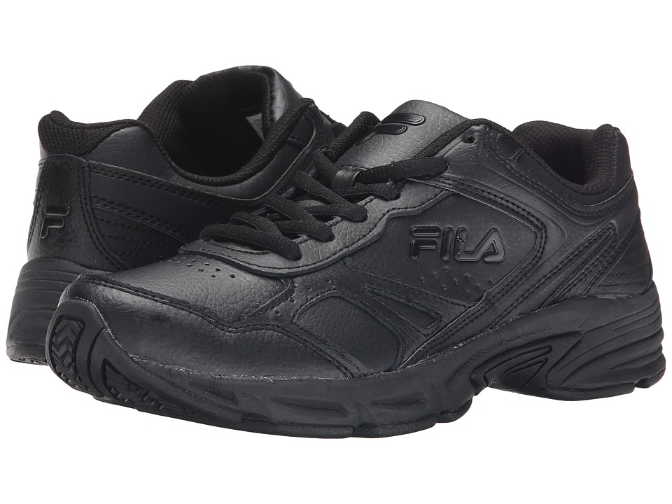 Fila - Workplace (Black/Black/Black) Men's Shoes