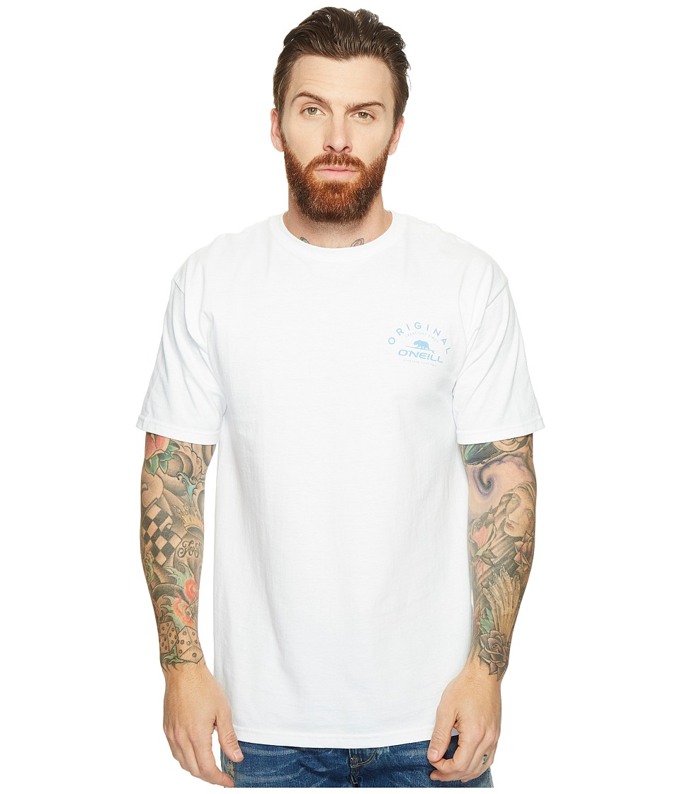 O'Neill - Splinters Tee (White) Men's T Shirt