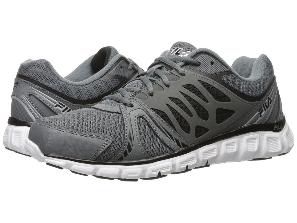 Fila - Memory Sendoff (Castlerock/Black/White) Men's Shoes