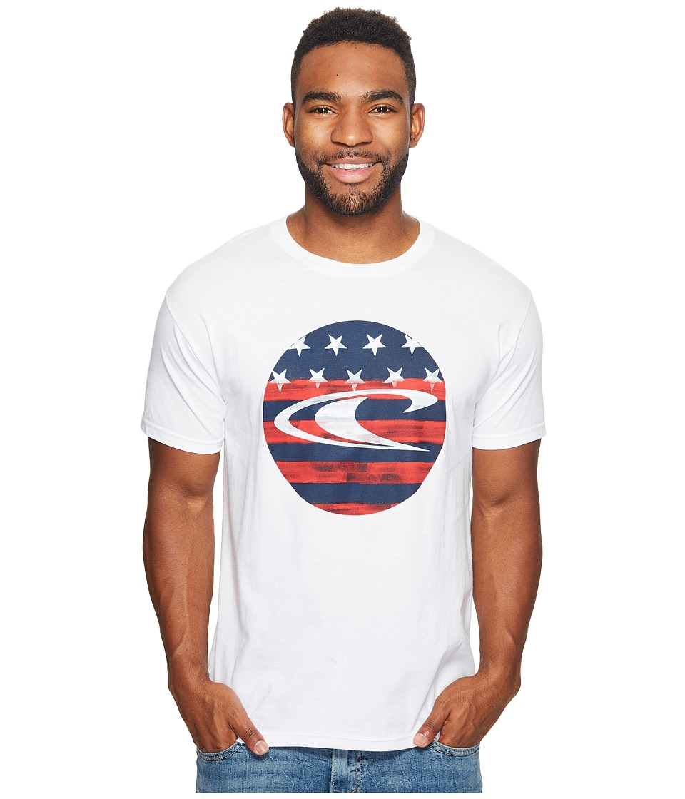 O'Neill - Spangle Tee (White) Men's T Shirt