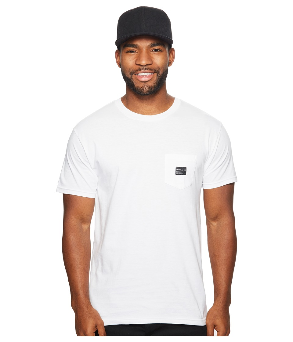 O'Neill - Stitched Tee (White) Men's T Shirt