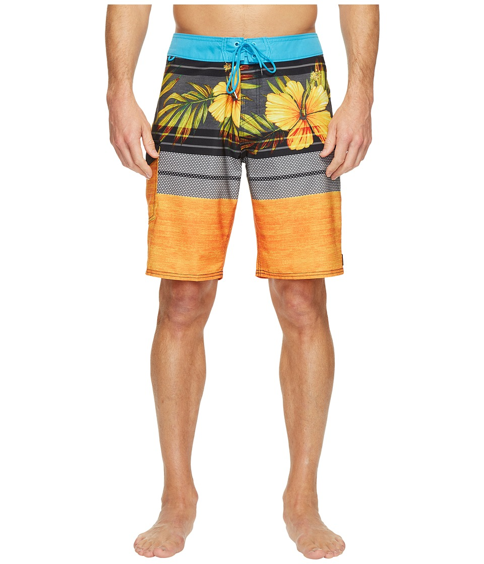 Reef - Release Boardshorts (Orange) Men's Swimwear